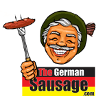 German sausage logo