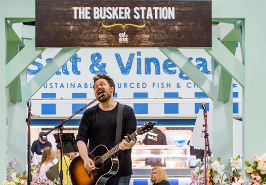 The Busker Station acts announced!