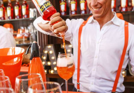Aperol Spritz - bringing the spirit of Italy to Eat & Drink!