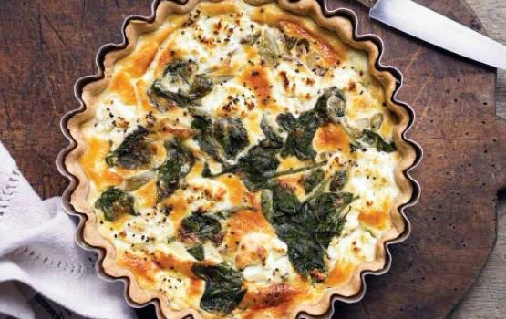 Spinach & Goat's Cheese Tart