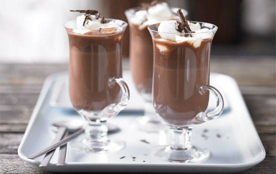 Hot chocolate with a spicy twist